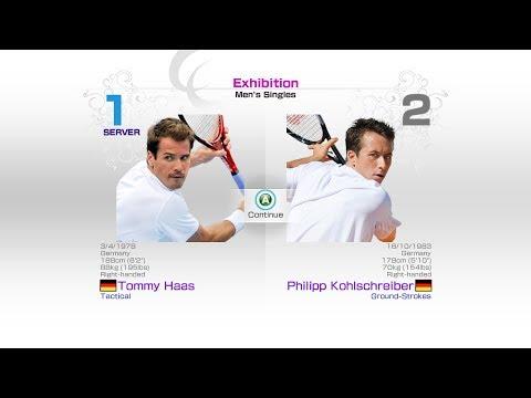 virtua-tennis-4-sega-tommy-haas-vs-philipp-kohlschreiber-rafael-nadal-roger-federer-murray