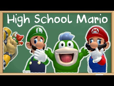 SMG4: High School Mario