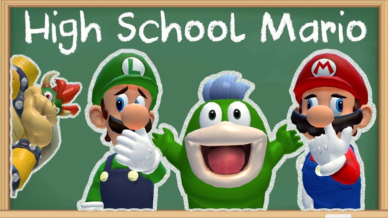 Smg4 Mario High School