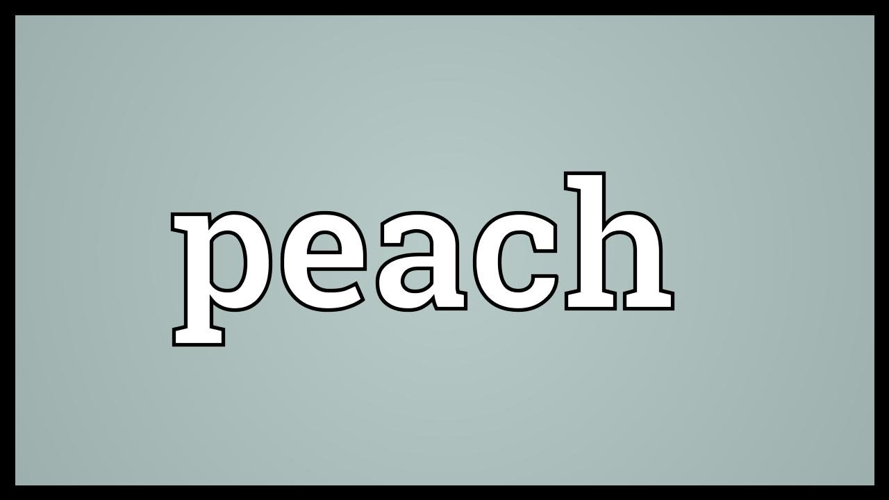 Peach meaning youtube peach meaning buycottarizona Image collections