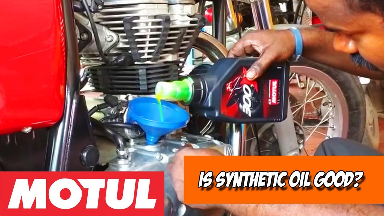 MOTUL Synthetic oil for Royal Enfield | Regular oil vs Synthetic oil