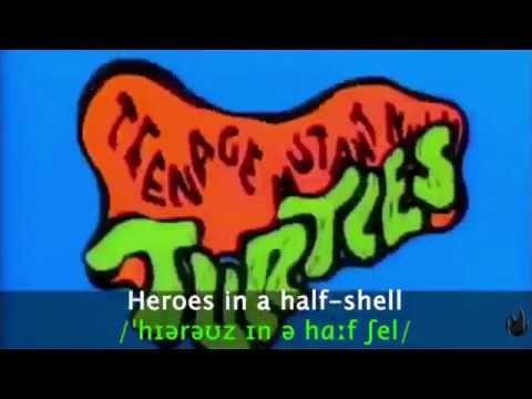 Teenage Mutant Ninja Turtles Intro 1987 Lyric & Phonethic Symbols