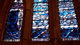 Departure Window Cathedral Dunblane Scotland