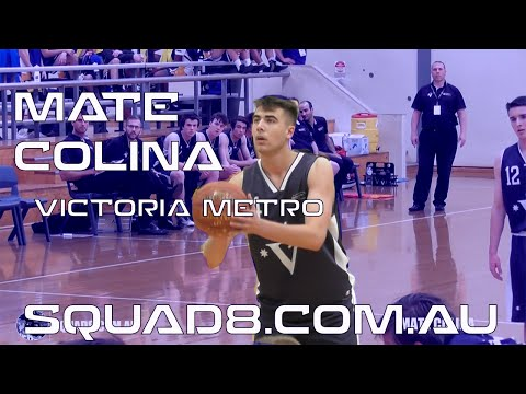 16yr Old ELITE Big man! CRAZY size! Australian Mate Colina Victoria Metro! U18 Nationals!