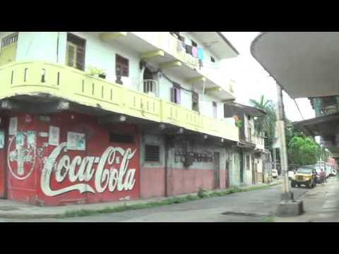 A drive through Chorillo, Panama City, Panama