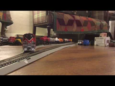 Bangor and aroostook gp-7 switching in Ho scale