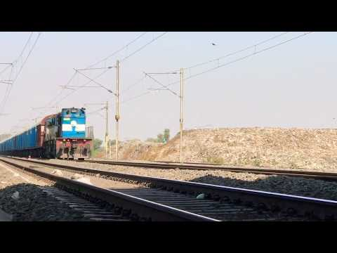 [3 in 1] Compilation of Freight Trains on Western Dedicated Freight Corridor India from Delhi-Mumbai