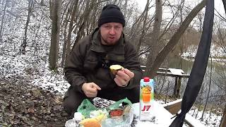 ЗИМНИЙ СПИНИНГ ОБЕД У КОСТРА Рыбалка 2019