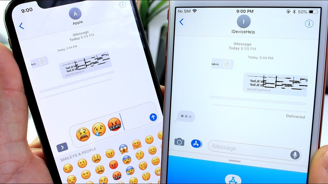 This Text Message Will CRASH & FREEZE ANY iPhone running iOS 11 - 11 2 2