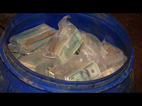 Pablo Escobar's Millions Found in Old Drums