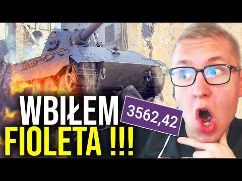 WBIŁEM FIOLETA !!! - World of Tanks thumbnail