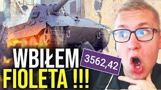 WBIŁEM FIOLETA !!! - World of Tanks