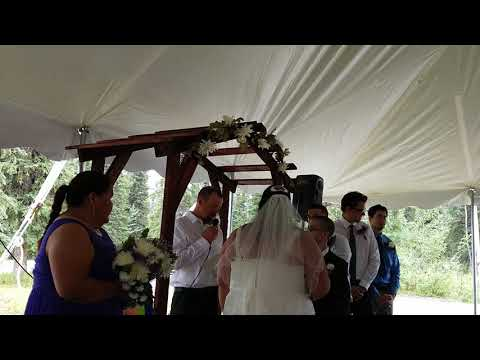 Zachary & Roberta Wedding Aug 4, 2018 @ Cantwell Alaska