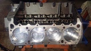 440 Chrysler Mopar Engine Building Part 3 - Piston Ring Gapping & Installation