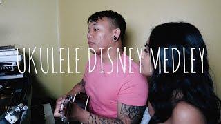 Ukulele Disney Medley ft. Alyssa Navarro | AJ Rafael