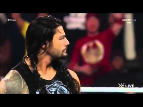 Roman Reigns Returns And Attacks Fandango And Then Big Show   WWE Raw December 15 2014