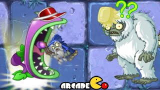 Plants Vs Zombies 2: NEW Costume Chomper Dark Ages Yeti Spotted