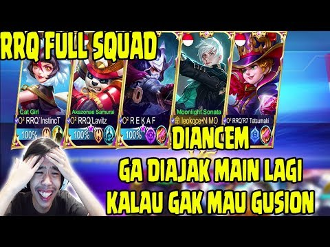 DIKERJAIN RRQ, DIPAKSA MAIN ASSASIN T_T - Mobile Legends Indonesia