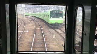 【105系電車で後方展望】JR和歌山線 下り その1 王寺駅→香芝駅