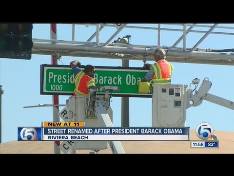 Old Dixie Hwy. renamed for President Obama