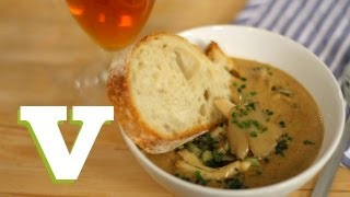Beer And Cheese Soup With Mushrooms: City Suppers S02E4/8
