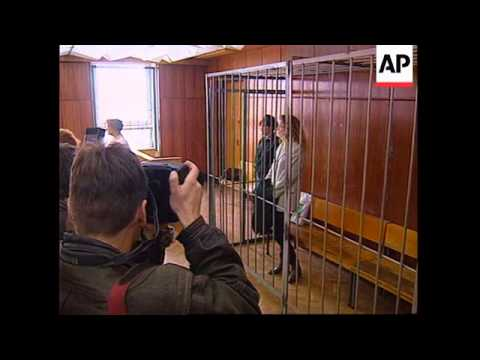 Russia - British girl sentenced to hard labour