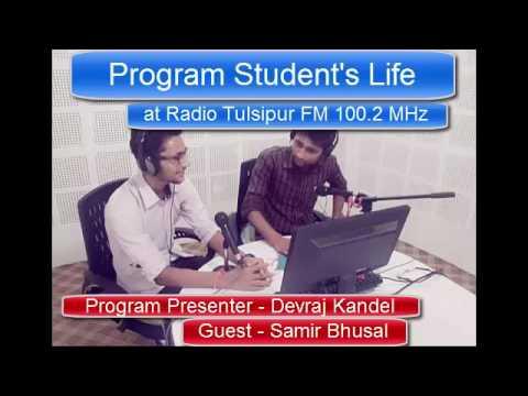 Student's Life at Radio Tulsipur FM 100.2 MHz