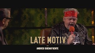 LATE MOTIV - Axl Rose Coronas | #LateMotiv56