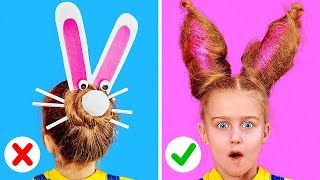 CUTE AND EASY HAIR IDEAS || Cool Hairstyles For Long Hair by 123 GO! Play