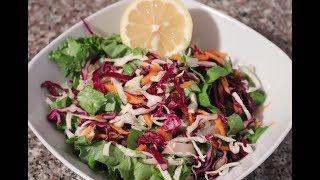 Рецепт вкусного и полезного салата для худеющих/Диетический салат