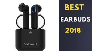 Unboxing The Best Wireless Earbuds in 2018 / Noise Cancelling support iPhone Android & Laptop