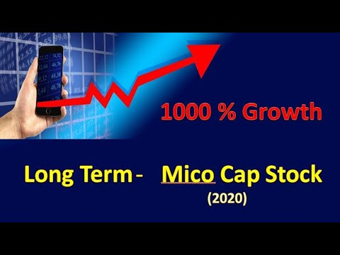 Best and top small cap micro stock to invest in 2020 - YouTube
