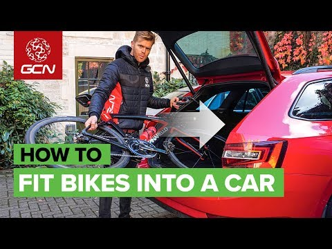 How To Fit A Bike Into (Almost) Any Car   Transport A Bike Without A Roof Rack