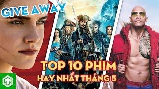 Top 10 phim nổi bật ra mắt trong tháng 5/2017