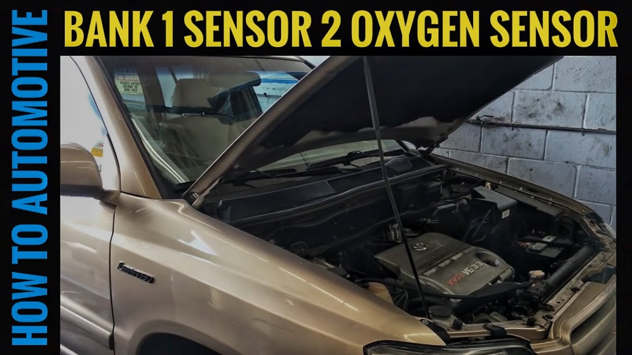 How To Replace The Bank 1 Sensor 2 Oxygen On A 2005 Toyota 2001 Highlander Engine Diagram