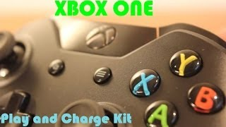 Hands On Xbox One Wireless Controller + Play and Charge Kit Review