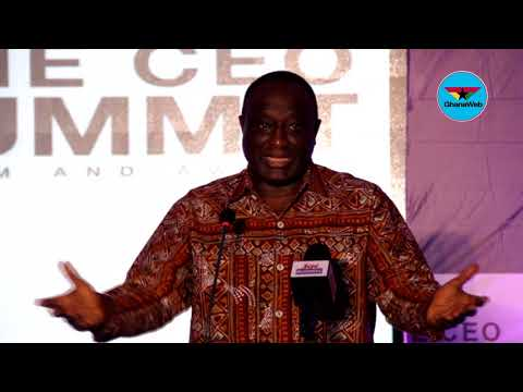 Ghana SME CEO Summit 2017: Trade Minister outlines government's business friendly policies