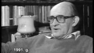 Dramaturgs Pēteris Pētersons par kompetences spēlēšanu, 1991.g