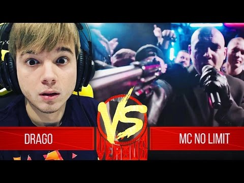 Реакция на Drago VS MC No Limit - ЛУЧШИЙ VERSUS BPM!