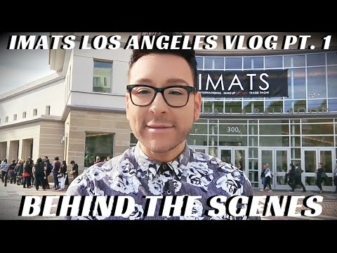 Makeup Haul Makeup Fun at @IMATS LA Professional MUA Vlog #MONDAYMAKEUPCHAT - mathias4makeup