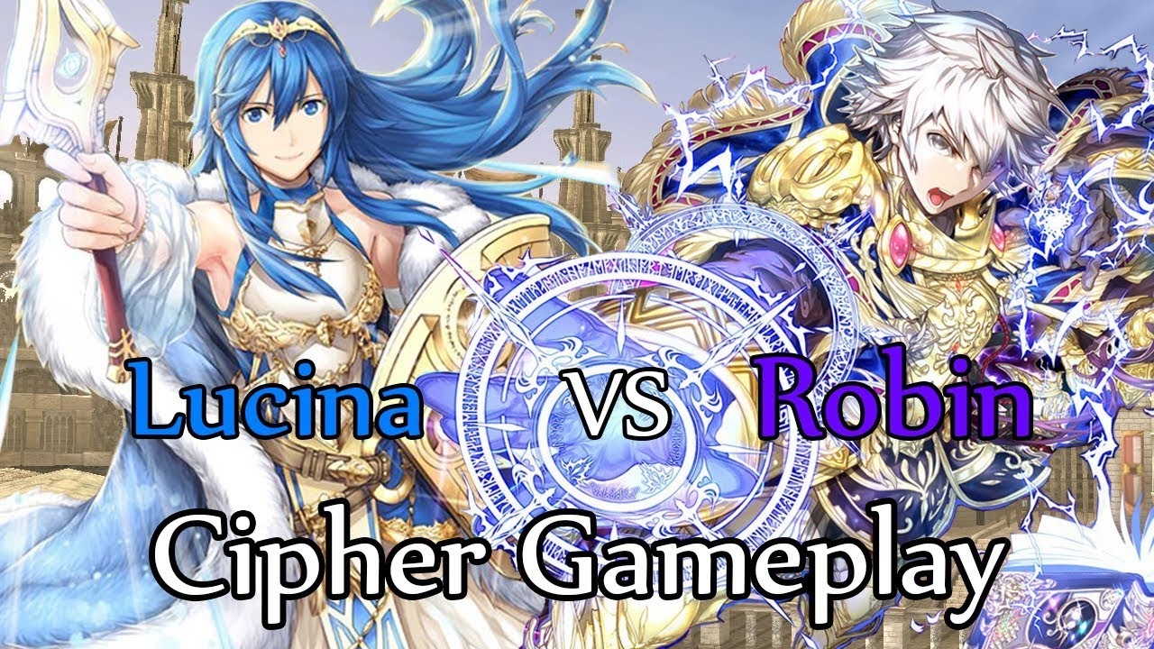 Fire Emblem Cipher 0 Gameplay: Lucina vs Robin