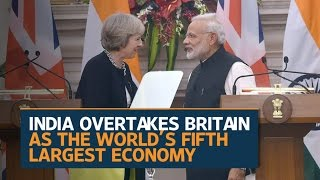 India surpasses Britain to become world's 5th largest economy