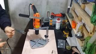 Drill Press Stand Setup and Use Matkap Standı Kurulumu ve Kullanımı