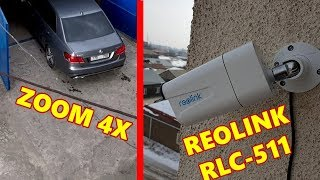 Reolink RLC-511 PoE Security IP Camera 2.4G/5G 5MP 4x Optical Zoom, SD Card / Review & Test