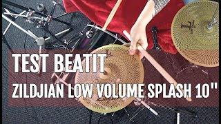 "BeatIt Test: 10"" Zildjian Low Volume Splash"
