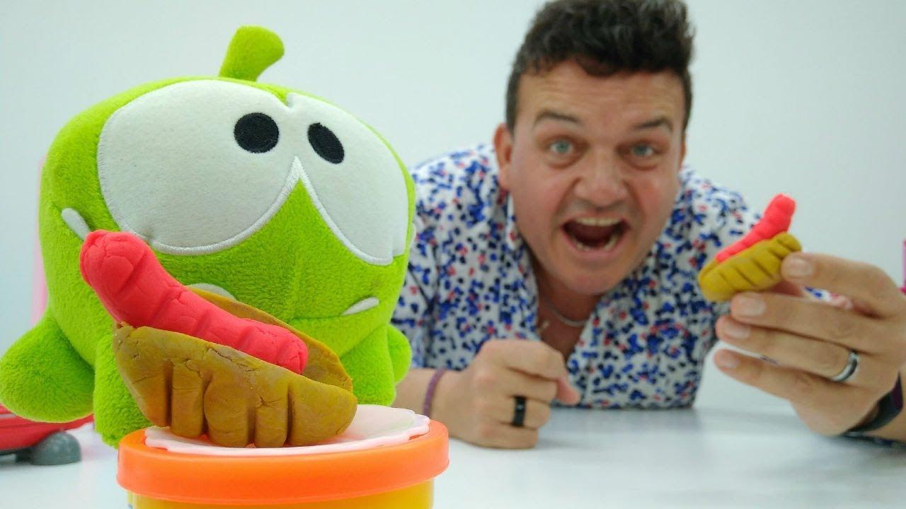 Play doh cocina para om nom v deos de juguetes youtube - Cocina play doh ...