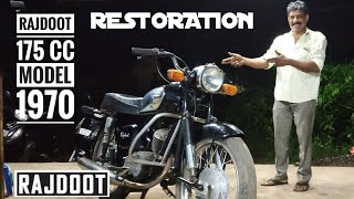 Rajdoot Restoration Project | Vintage Bike Rajdoot 1970 | Modified Rajdoot 2019