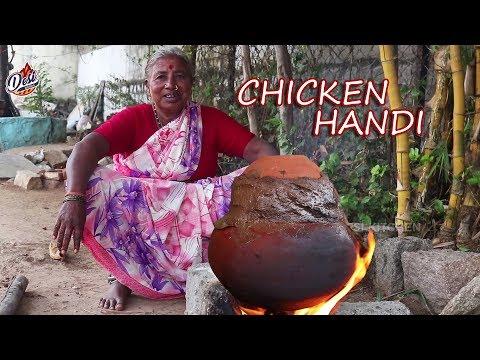 Easy Chicken Handi in 15 Minutes | Traditional  Grandma Chicken Curry Village style