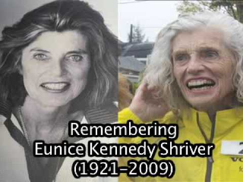 Remembering Eunice Kennedy Shriver