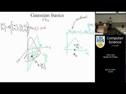 Machine learning - Introduction to Gaussian processes